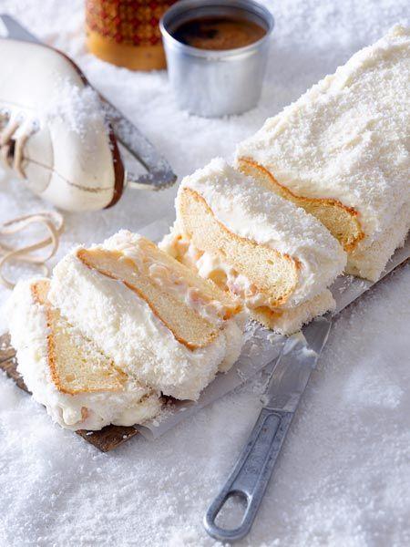 #Weihnachten #Advent #Kokos #Kastenkuchen #Rezept #backen