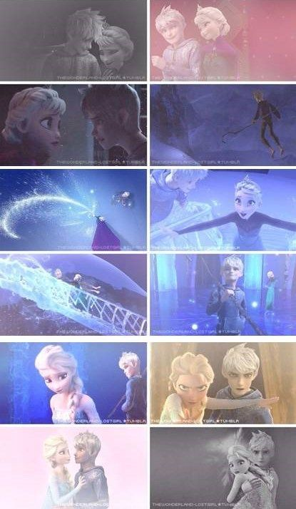 Elsa and Jack are perfect for each other they should make a movie where Elsa and Jack meet