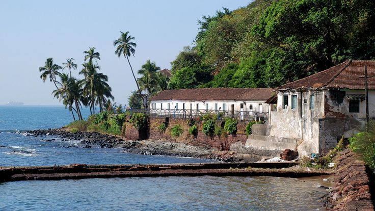 The 17th-century Central Jail Aguada is Goa's largest prison. Photo: ephotocorp.