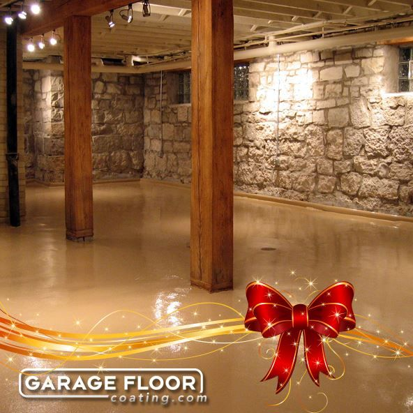 Give the holiday gift that will last a lifetime.  Give a Garage floor coating today!  Not just for garages.  Walkways, patios, landings, steps, basements.  The possibilities are vast.