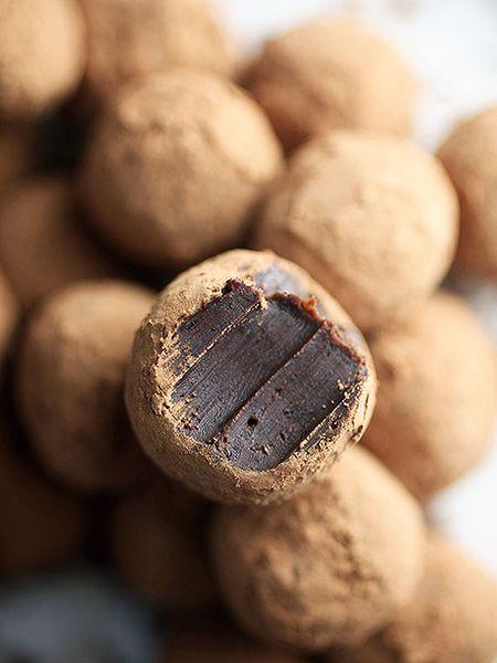 chocolate coffee truffle