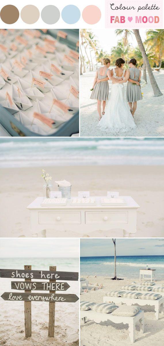 beach wedding in new jersey%0A beach wedding ideas beach wedding color palette beach wedding  colors neutral beach wedding