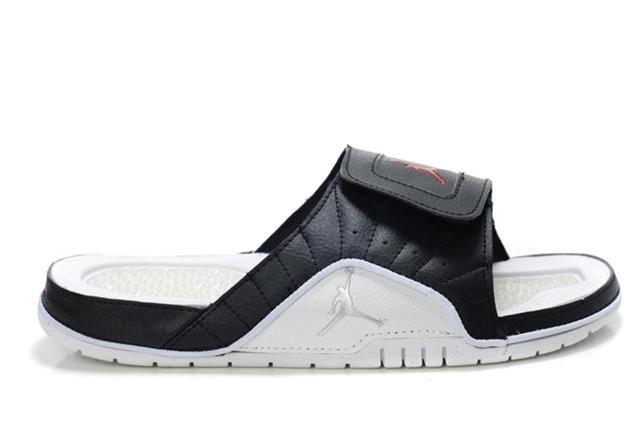 https://www.hijordan.com/air-jordan-12-black-white-red-sandals-p-600.html Only$72.40 AIR #JORDAN 12 BLACK WHITE RED SANDALS Free Shipping!