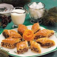 Chocolate Baklava- this was yummy!