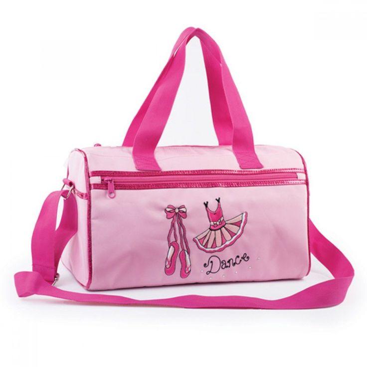 Pink Ballet Shoe & Tutu Shoulder Bag dazzle-dancewear.co.uk