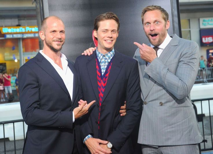 Alexander Skarsgård trolled his brother at the 'It' premiere and the photos are downright perfect
