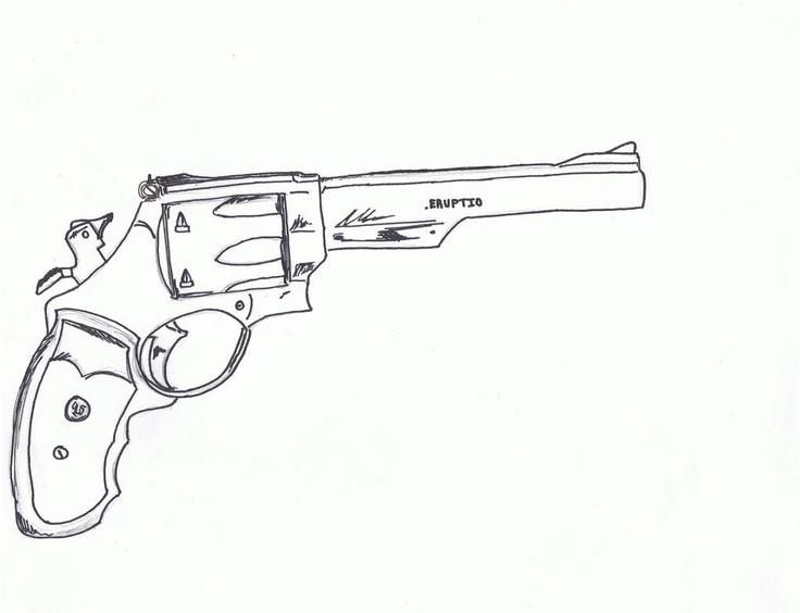 Line Drawing Gun : Best images about guns illustrations on pinterest