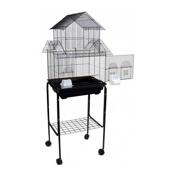 Holtzman Pagoda Small Bird Cage With Stand Small Bird Cage Bird Cage Stand Bird Cage