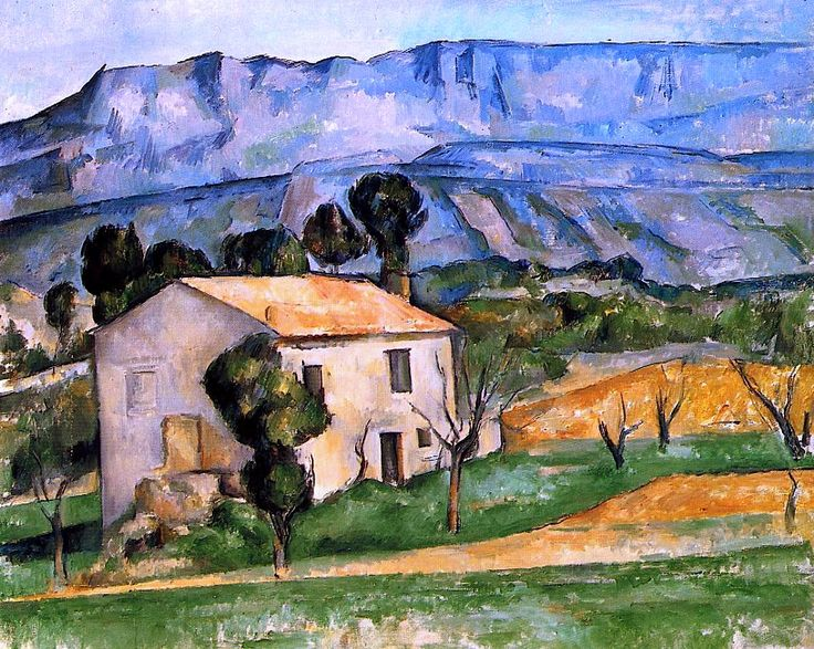 Houses in Provence, near Gardanne, Paul Cezanne - 1886-1890
