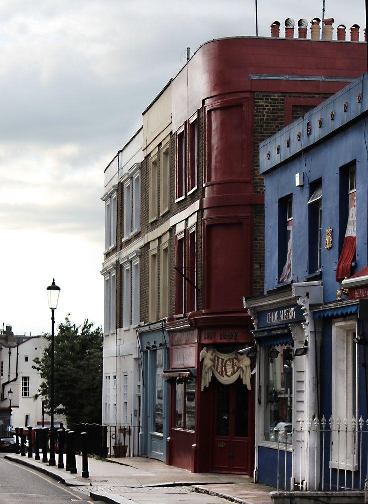 #London #Notting Hill #Portobello Road