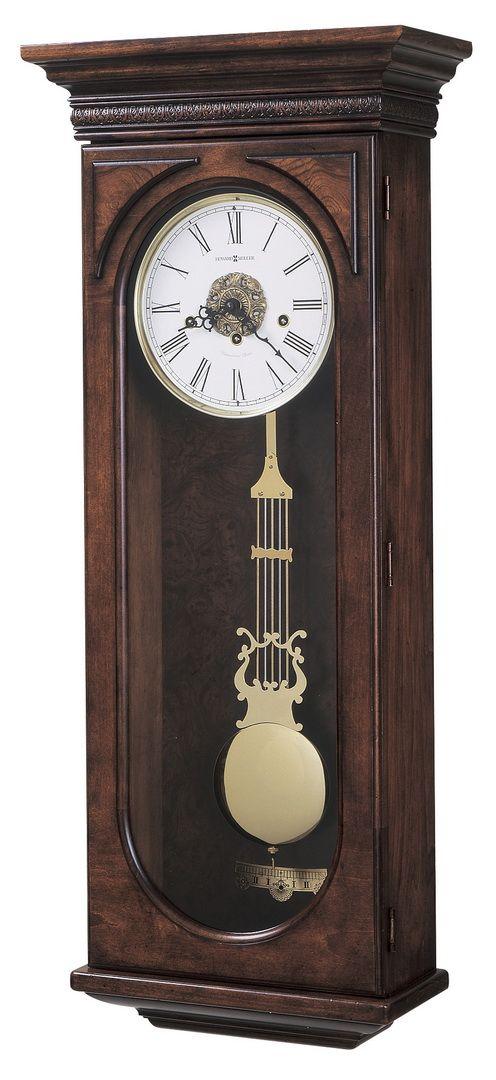 Howard Miller Chiming Keywound Wall Clock 620F433