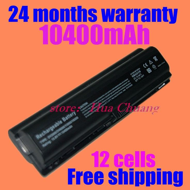 JIGU Free Shipping  NEW 12 CELLS  Replacement Laptop battery for HP Pavilion DV2000 dv2200 dv6000 #Affiliate
