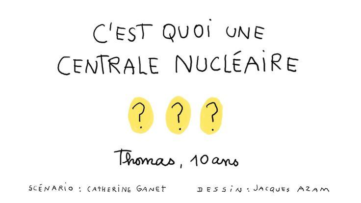Les infos animées : C'est quoi une centrale nucléaire ?