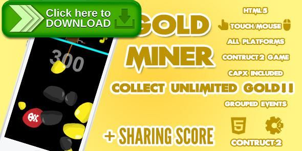 [ThemeForest]Free nulled download Gold Miner Game + Share Score from http://zippyfile.download/f.php?id=44604 Tags: ecommerce, android, capx, classic game, construct 2, dig, earth, explore, gold, gold miner, hook, mine, pulley, rocks, simple game, treasure