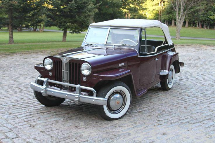 1949 Willys Jeepster Convertible Sedan