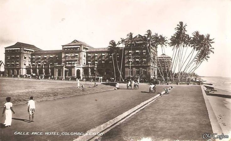 #Throwback #Thursday We take a look at a vintage capture of #GalleFaceHotel #Colombo #Srilanka