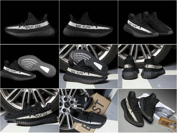 May 2017 Cheap High Quality Core Black Peach Adidas Yeezy 350 Boost V2 Real Boost Core Black