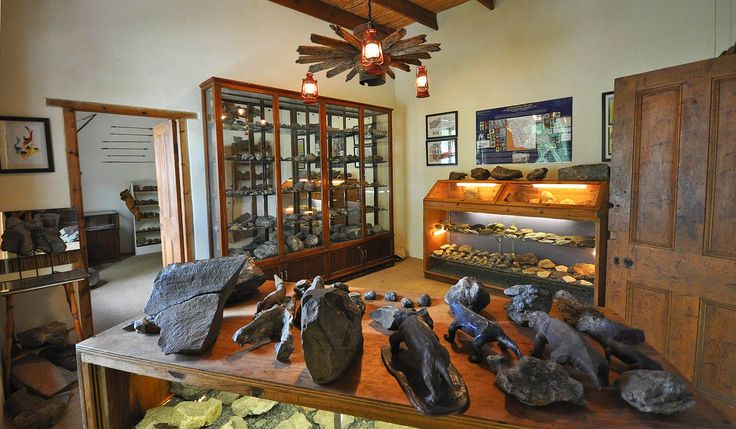 The amazing fossil museum at Ganora Farm in the Cradock and Graaff-Reinet area of the Eastern Cape in South Africa.  Activities in the area include fossil lectures and walks, Bushman rock art walks, sheep shearing, a meerket rehabilitation project, hiking, mountain biking and visiting Nieu Bethesda.  africatravelresource.com