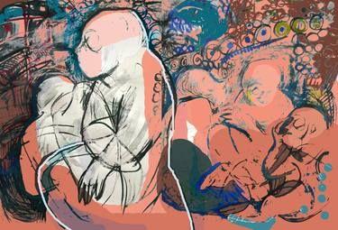 """Saatchi Art Artist Ioana Serban; New Media, """"Bruised Time 2"""" #art"""