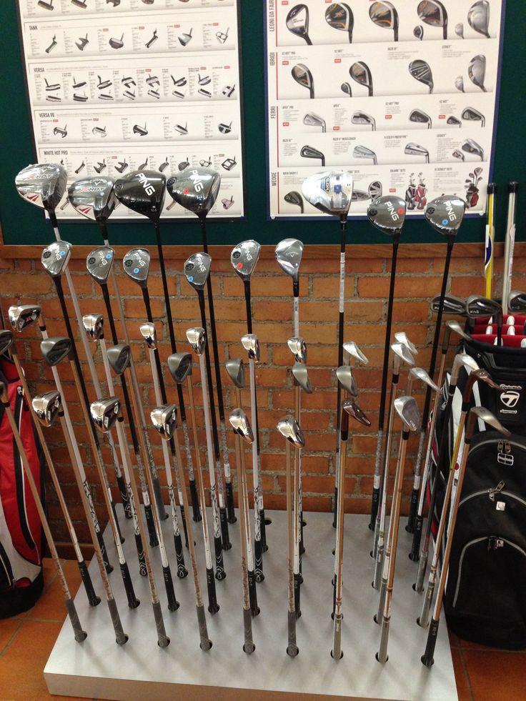 Pro Shop Golf Club Udine, Fagagna - Italy.