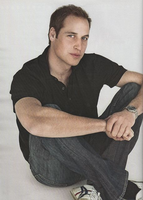 prince william / HOW HANDSOME.  HE LOOKS JUST LIKE HIS MOTHER.