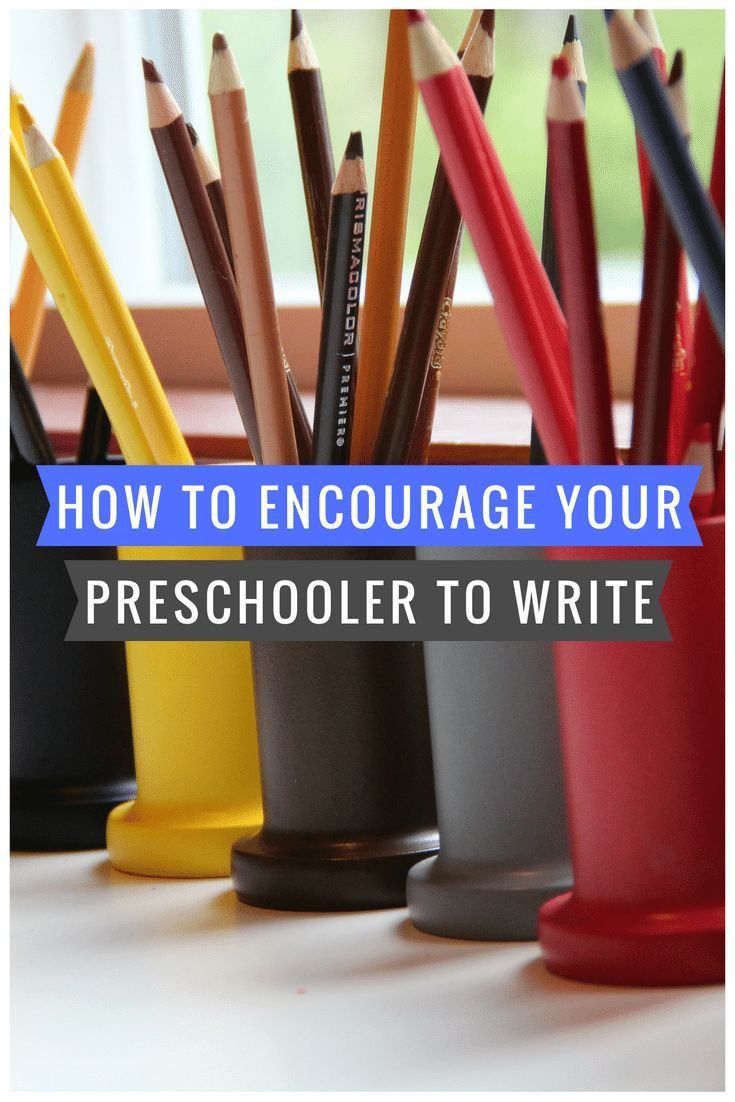 How to Encourage Your Less Than Thrilled Preschooler to Practice Writing via @marniecraycroft