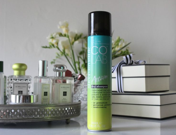 Colab Active Dry Shampoo Review -The Sunday Girl
