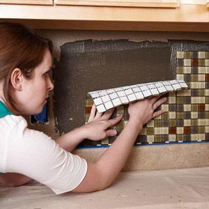 How to Tile Your Backsplash -- Free Guide -- Better Homes and Gardens