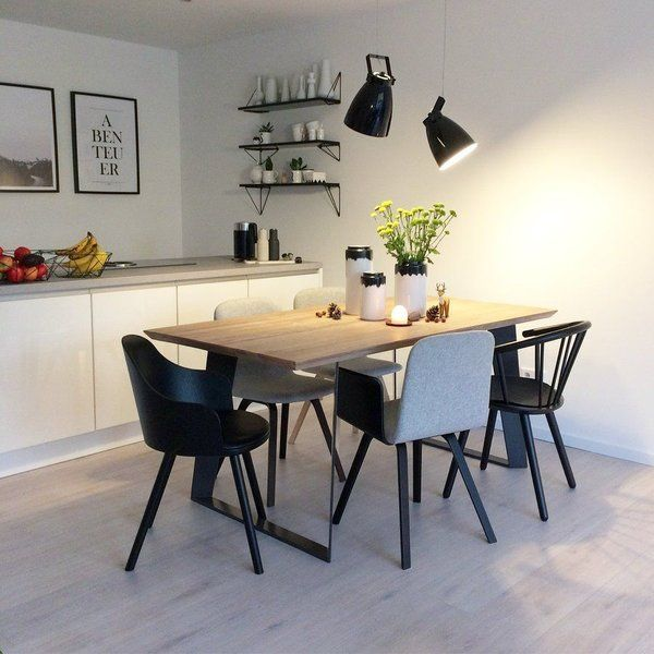 529 best #Esszimmer images on Pinterest Dining room, Dining - esszimmer mit bank einrichten