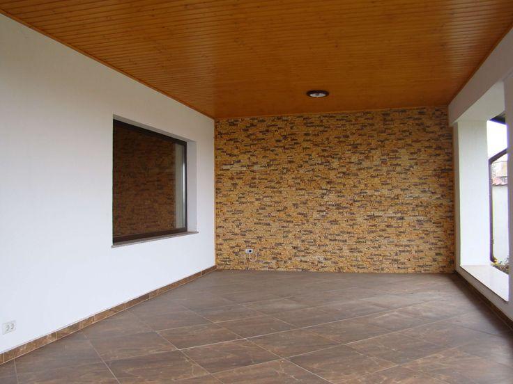 terasa acoperita - terrace - bricks