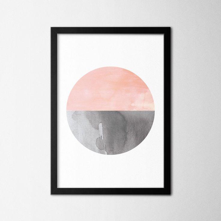 Scandinavian Pink Circle - Northshire - Metal Wall Art - Metal Wall Decor    #interior #wallart #interiors #interiordesign #inspiration #decor  #decoration #design #ideas #giftideas #art #artforsale #artoftheday #designer   #handmade #homedecor #home #print #artprint #poster #decorationideas #conceptdesign #styling #office #wallart #walldecor #scandinavian #geometric #watercolor #circle