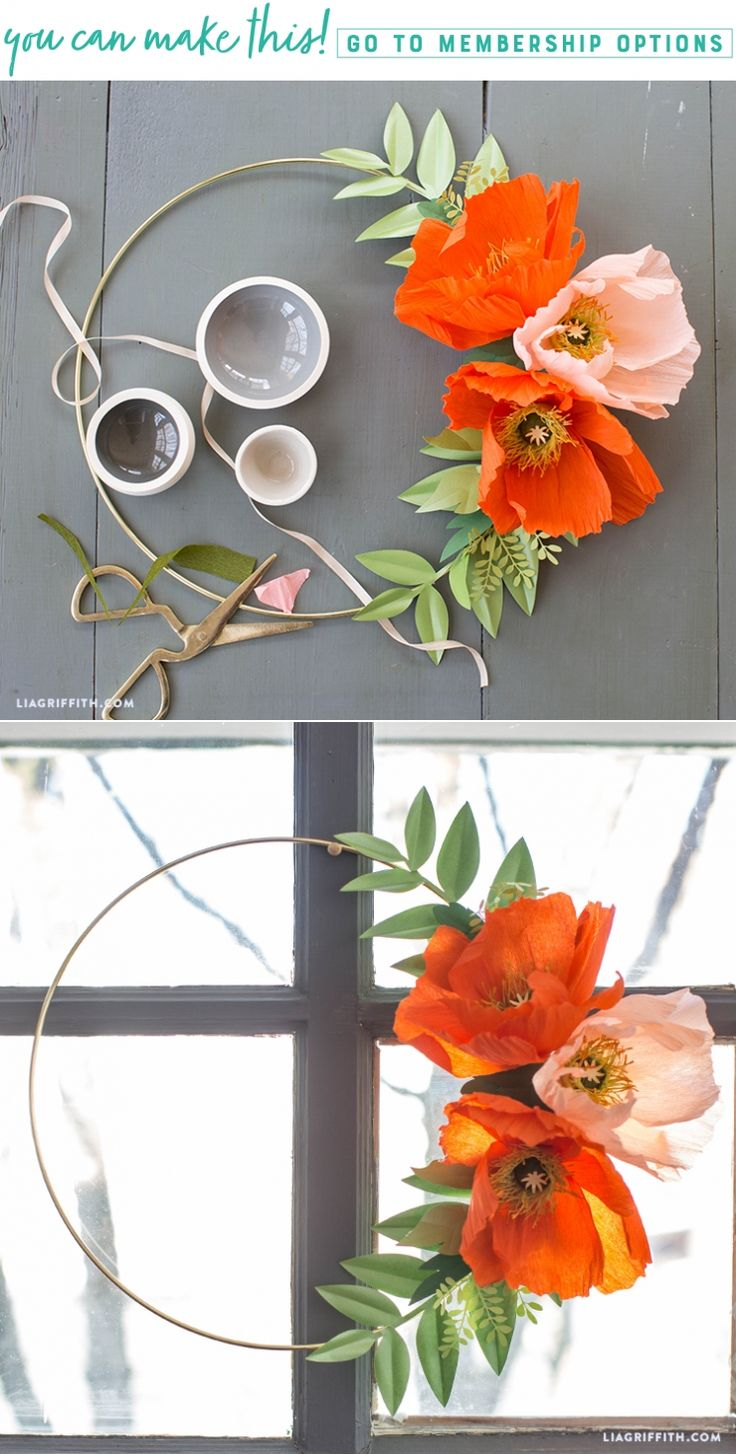 Just Poppy(ing) in to Say Hello ✨ Spring is right on our doorstep. Give it a warm welcome with this crepe paper poppy wire wreath https://liagriffith.com/crepe-paper-poppy-wire-wreath/⠀⠀⠀⠀⠀⠀⠀⠀⠀ *⠀⠀⠀⠀⠀⠀⠀⠀⠀ *⠀⠀⠀⠀⠀⠀⠀⠀⠀ *⠀⠀⠀⠀⠀⠀⠀⠀⠀ #spring #wreath #poppy #springdecor #home #homedecor #homedecorations #homedecorating #diyhome #diyhomedecor #paper #papercut #paperlove #papercraft #papercrafts #paperflower #paperflowers #crepepaper #crepepaperflowers #crepepaperrevival #madewithlia
