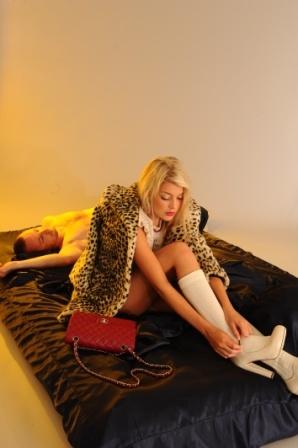 wearing high heels by fashion designer/Stylist Marlen Vitorno