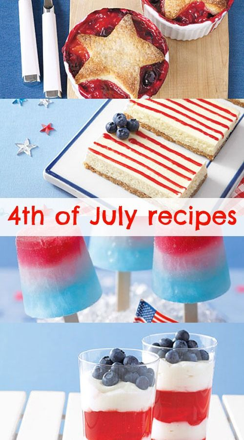 4 of july recipes
