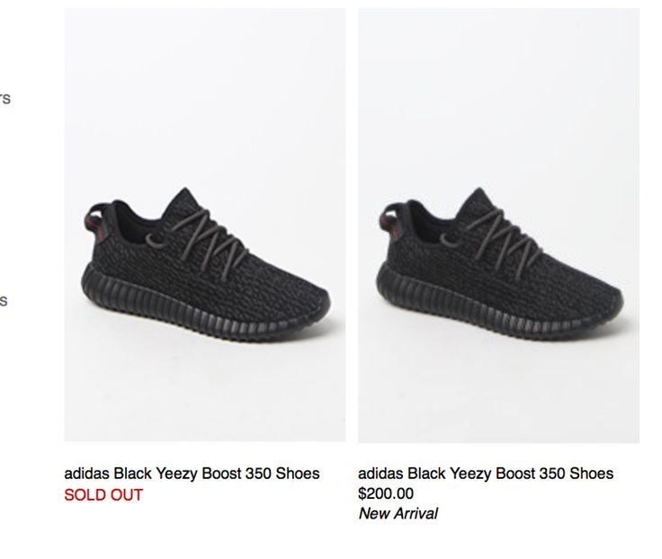 adidas yeezy boost 350 black comprar