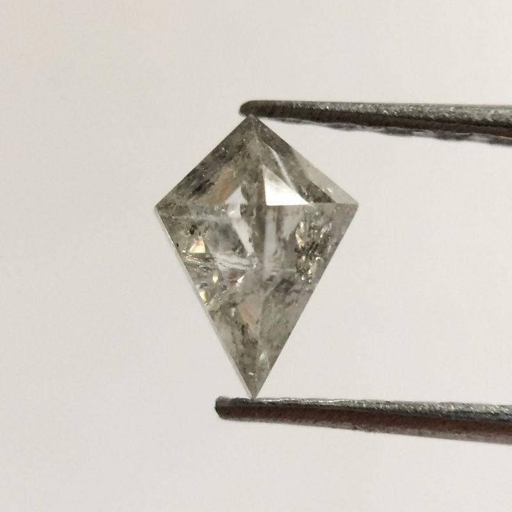 0.26 Ct Fancy opalescent Color geometric shape Natural Loose Diamond 5.90 mm X 4.10 mm, Kite Shape Brilliant grey Diamond Use For Sale NR http://etsy.me/2FspTG9 #supplies #grey #diamond #yes #no #beading #valentinesday #wedding #naturaldiamonds