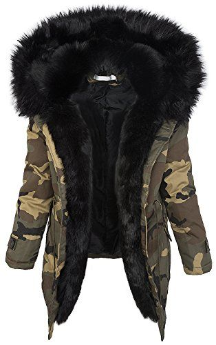 parka damen winter mit fell