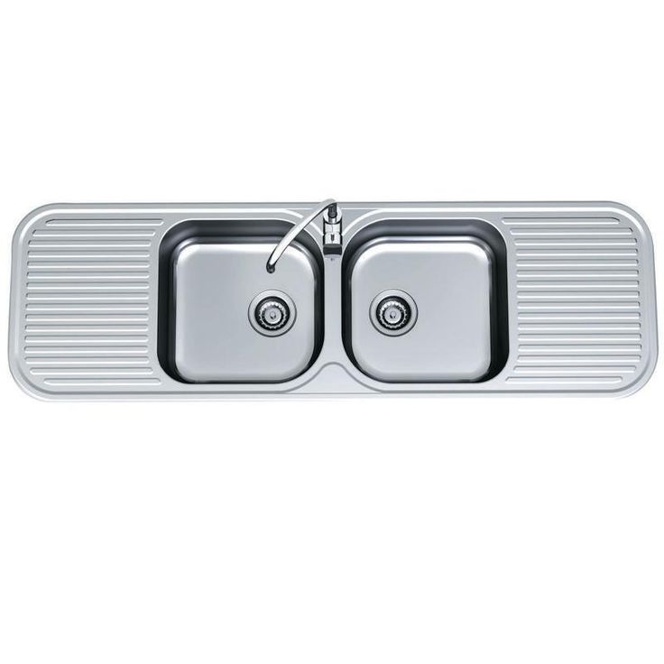 Kitchen Sinks - Advance - Advance Double Centre Bowl