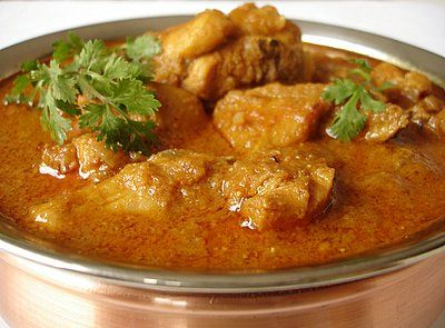 Curry Chicken - This is a typical curry cooked in almost Malaysian chinese homes. The basic recipe uses prepared spices, a combination of Malay and Indian fusion mixed paste cooked the Chinese method  Fresh tumeric, galangal, lemon grass and potatoes are added into it.