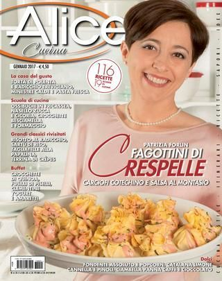 Alice cucina gennaio 2017 mar