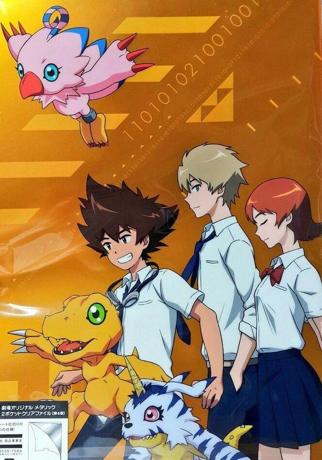 322860f422d Digimon adventure tri Taichi yagami yamato lshida sora Takenouchi agumon  Biyomon Gabumon