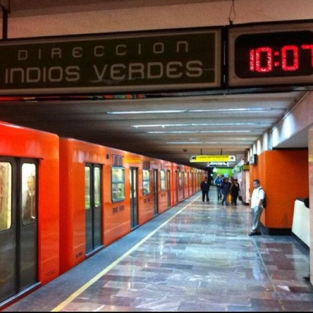 Mexico City - Mexico El Metro