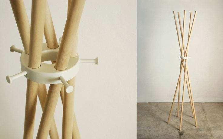 oslo coat stand by kuma
