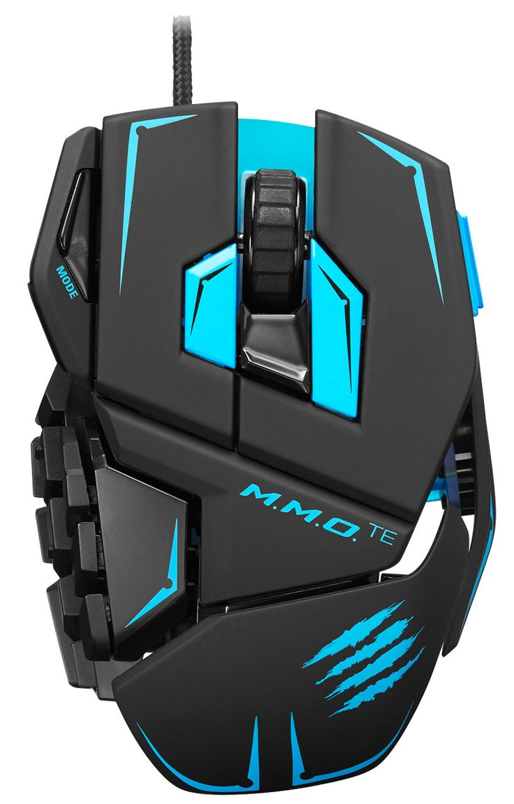 Mad Catz Announces the M.M.O.Te Tournament Edition Gaming Mouse for PC and Mac   techPowerUp