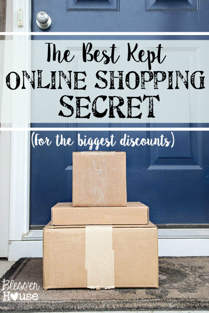 The Best Kept Online Shopping Secret | blesserhouse.com