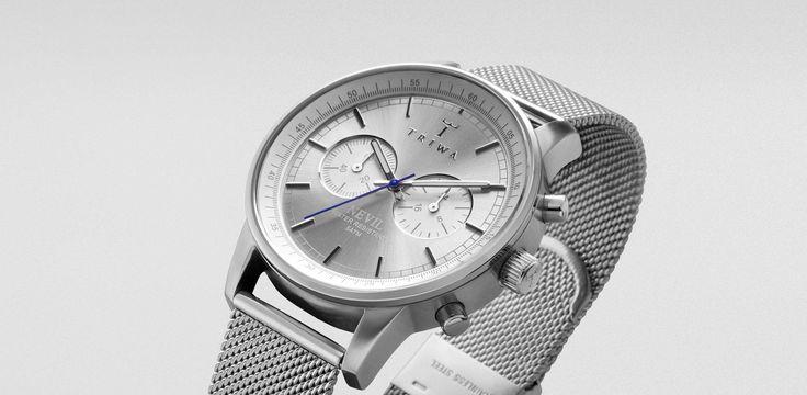 TRIWA - Watch - Stirling Steel Nevil