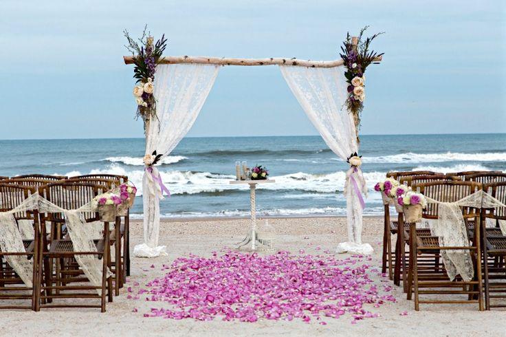 Sun Sea Beach Weddings: 7 Best Vintage Birch Arbors By Sun And Sea Beach Weddings