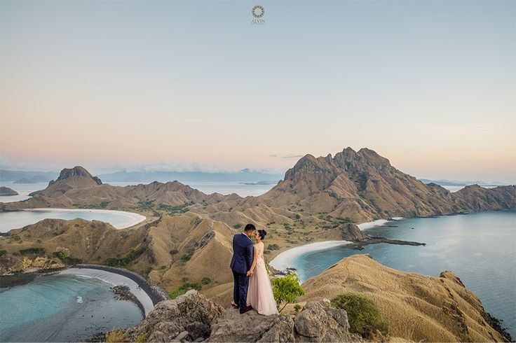 You have me. Until every last start in the galaxy dies. You have me. . Courtesy from @adhyanovic & @kartiniayu Prewedding Make up artist by @dininurdianimua Location Padar Island, Labuan Bajo Flores . . Photograph by @alvinfauzie Check our website for the other photos at www.alvinphotography.co.id