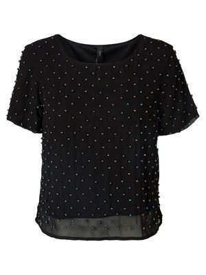 BEADY SS TOP VERO MODA Holiday Countdown contest. Pin to win the style!