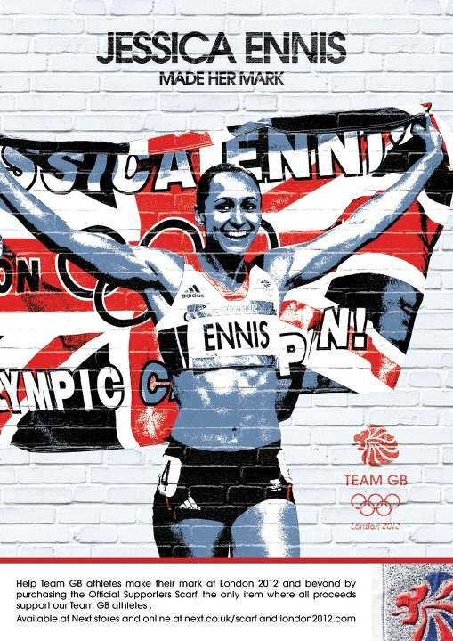 Jessica Ennis Team GB Made her mark